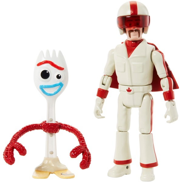 Duke Caboom and Forky Action Figures Disney Pixar's Toy Story 4