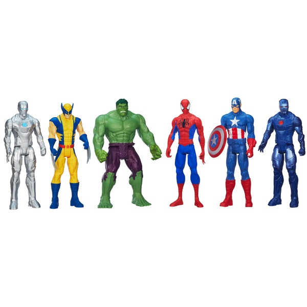 Marvel Universe Titan Hero Series Super Hero Collection 6 Pack