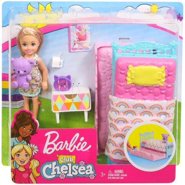 Barbie Chelsea Bedtime Doll Playset Barbie Ireland