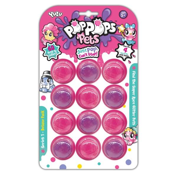 Pop Pops Pets 12 Pack Series 1 Deluxe Pack