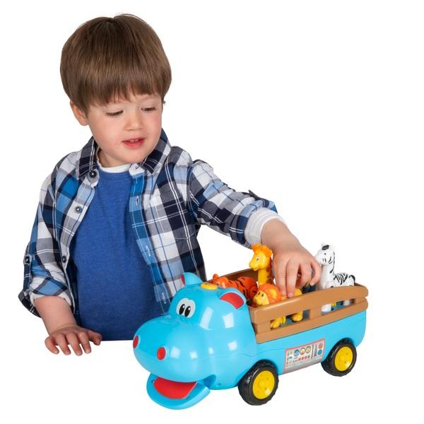 Big Steps Play Hippo Safari Truck