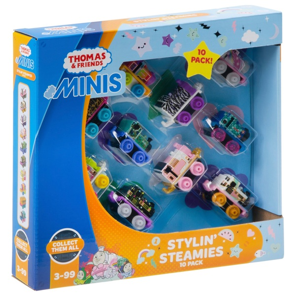 Thomas and Friends Minis Stylin' Steamies 10 pack - Thomas Minis Ireland