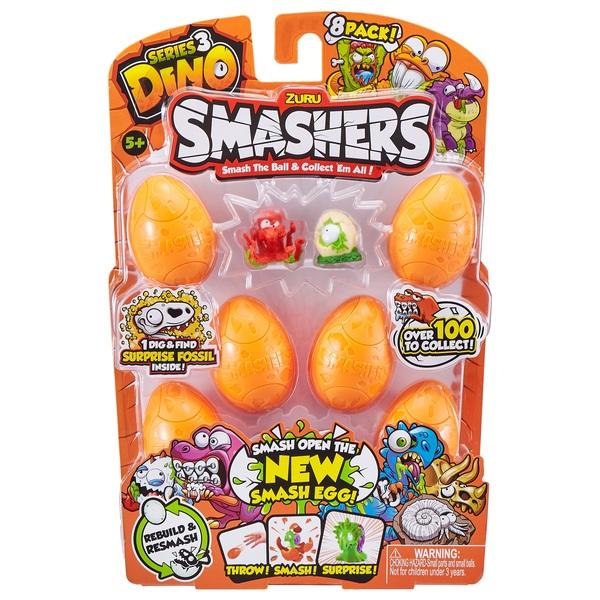 Smashers Dino 8 Pack