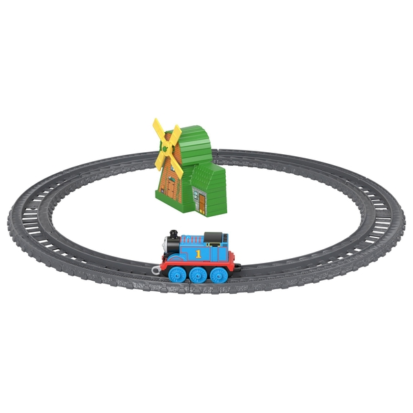 Thomas & Friends TrackMaster Push Along Thomas & The Windmill Play Set