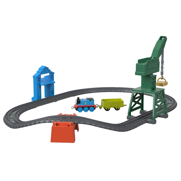Thomas & Friends TrackMaster Push Along Brendam Fish Market Playset
