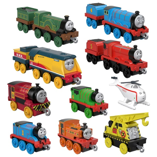 Thomas and Friends TrackMaster Push Along Sodor Steamies Multipack