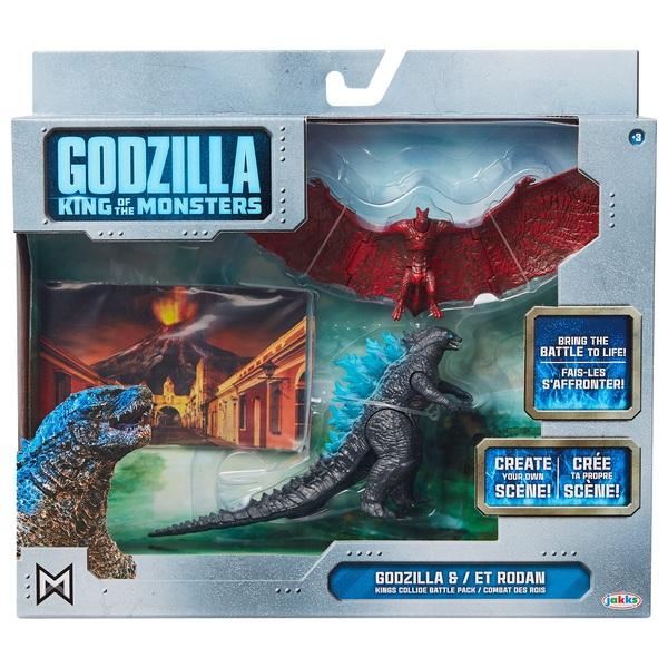 Godzilla Godzilla and Rodan 9cm Figure