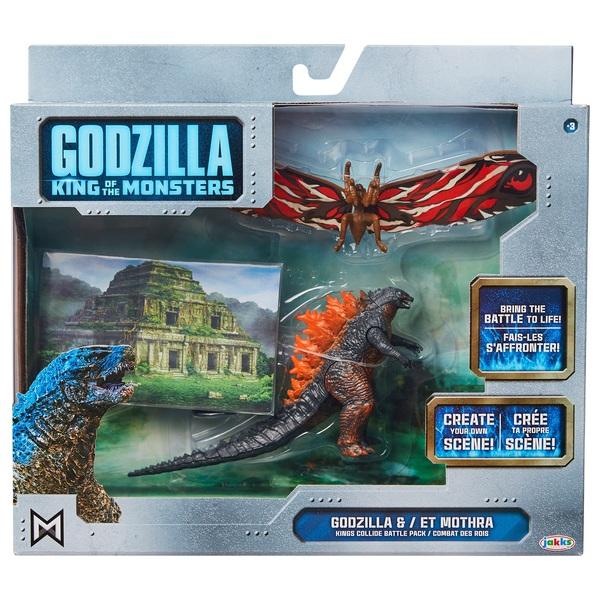 Godzilla Fire Godzilla and Mothra 9cm Figure