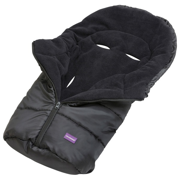 ClevaMama Car Seat Footmuff - Black