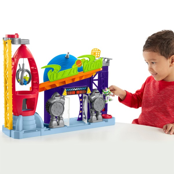 Imaginext Toy Story Legacy Pizza Planet Playset