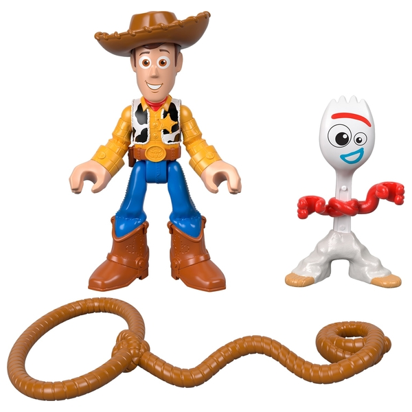 Imaginext Toy Story 4 Woody & Forky
