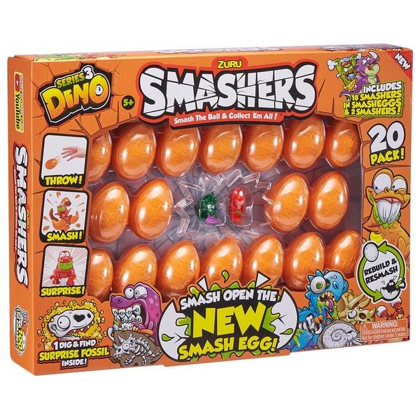 Smashers Dino 20 Pack