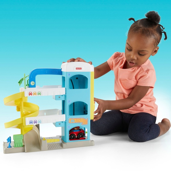 Fisher-Price Little People Helpful Neighbour's Toy Garage Playset