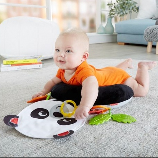 Fisher-Price Hug and Play Tummy Wedge Playmat For Baby