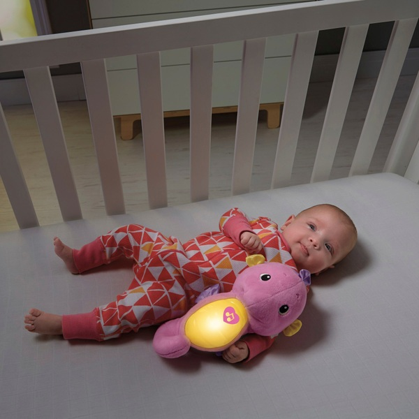 Fisher-Price Soothe and Glow Seahorse Pink