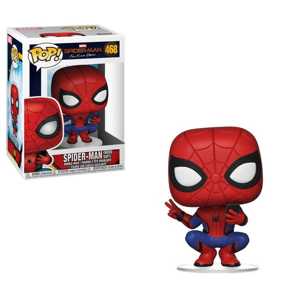 POP! Vinyl: Spider-Man Far From Home Spider-Man Hero Suit