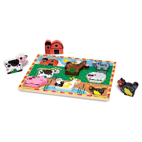 Melissa & Doug Chunky Puzzle Assortment