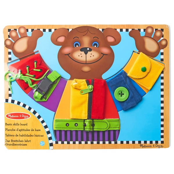 Melissa And Doug Basic Skills Board Educational Toys
