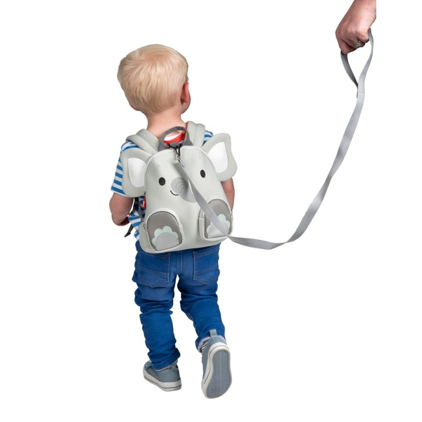 Q Play Ellie the Elephant Toddler Backpack with Harness
