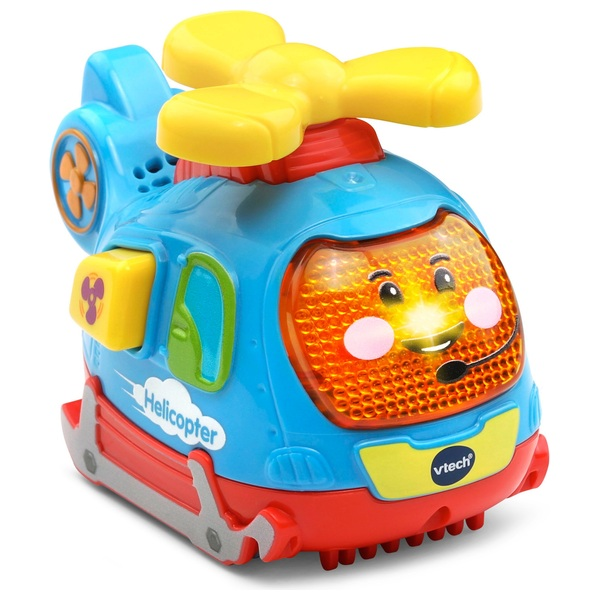 VTech Toot-Toot Push and Spin Helicopter