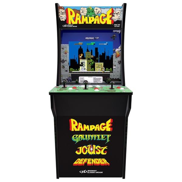 Arcade1Up - Midway Rampage/Gauntlet/Joust Defend