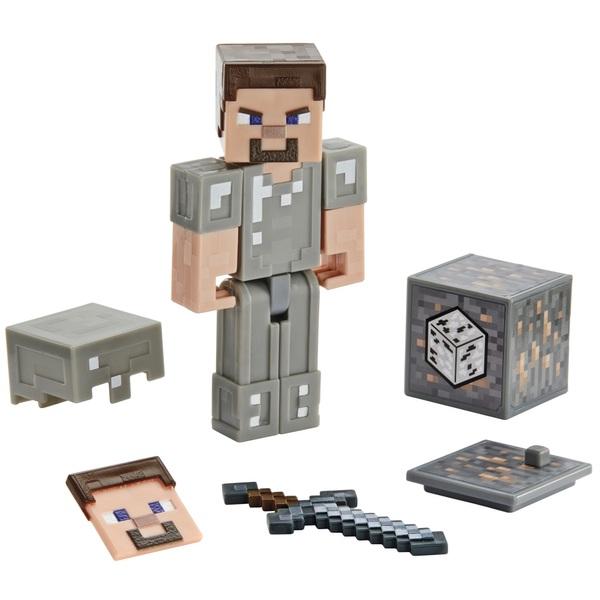 Minecraft Steve in Iron Armor