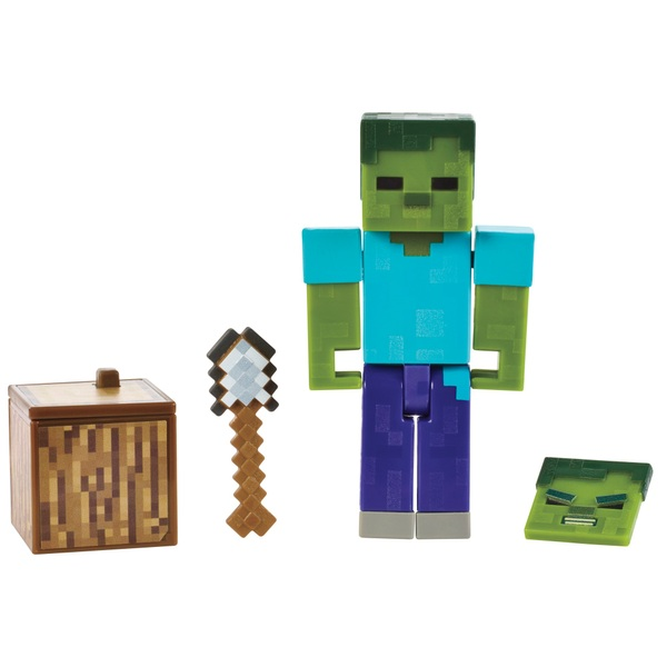 Minecraft Zombie 8cm Action Figure