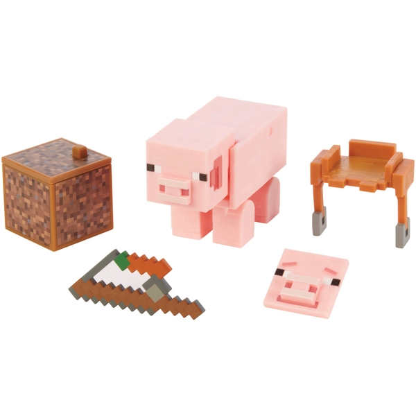 Minecraft Pig 8cm Action Figures