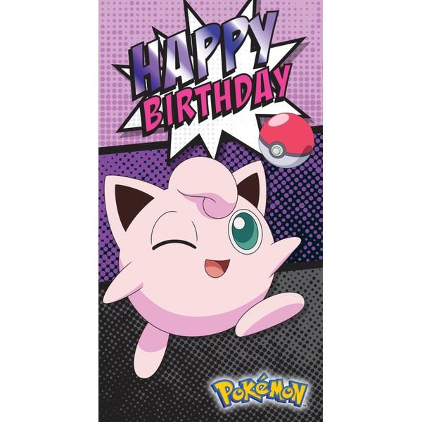Pokemon No Age Birthday Card