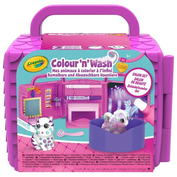 Crayola Washimals Pet Salon Playset