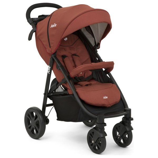 Joie Litetrax 4  - Brick Red Pushchair
