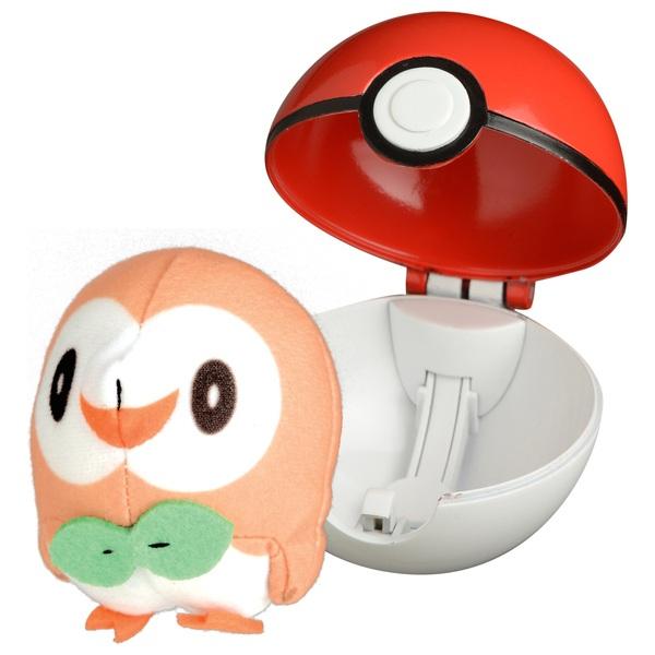 Pokémon PopAction Rowlet Pokéball