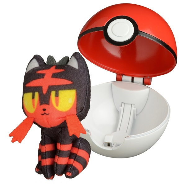 Pokémon PopAction Litten Pokéball