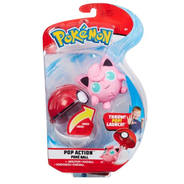 Pokémon PopAction Jigglypuff Pokéball