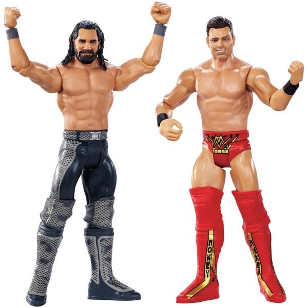 WWE Wrestlemania 35 Twin Pack Rollins and Miz