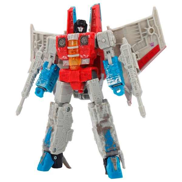 Starscream Transformers Generations War for Cybertron Siege Voyager Collectible Action Figure