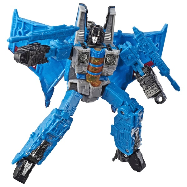 Thundercracker Transformers War for Cybertron Siege Voyager Collectible Action Figure