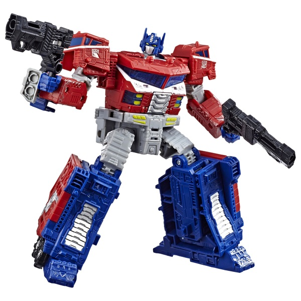Galaxy Upgrade Optimus Prime Action Figure - Transformers Toys Generations