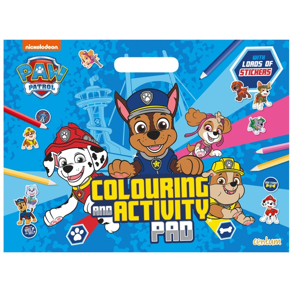 PAW Patrol Giant Activity and Colouring Pad PB