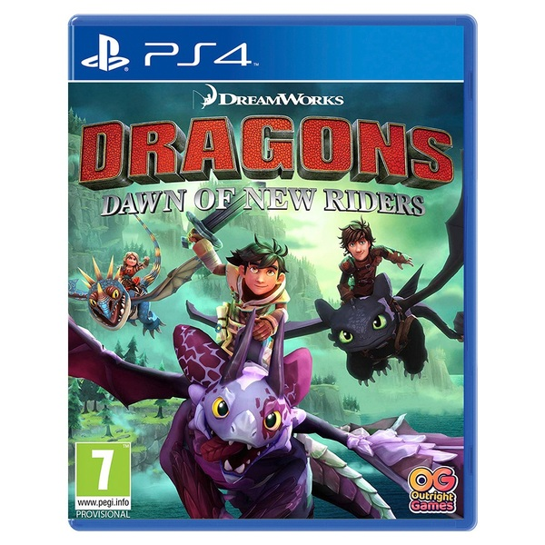 Dragons: Dawn Of New Riders PS4