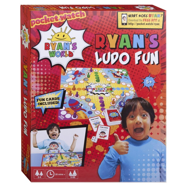 Ryan's World Ludo Board Game