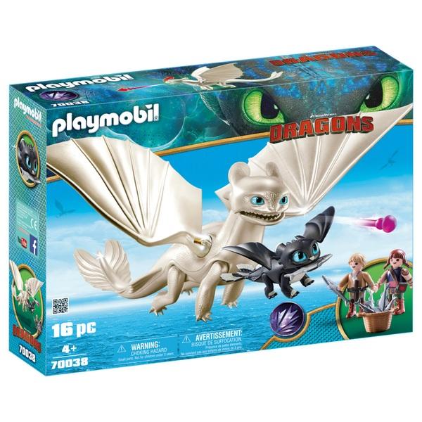 Playmobil 70038 Dreamworks Dragons Light Fury