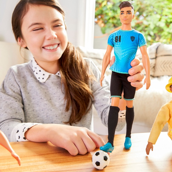 Career Barbie Ken Doll Soccer Player
