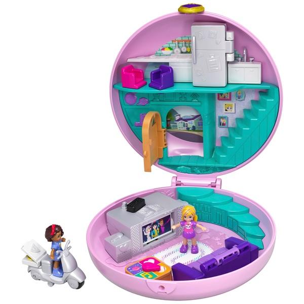 Polly Pocket Donut Pajama Party Playset