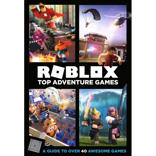 Roblox Top Adventure Games HB Book