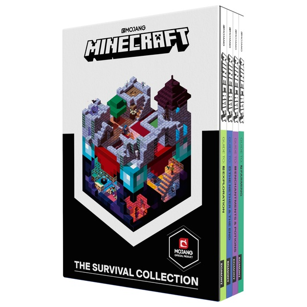 Minecraft: The Survival Collection Guide Book Set