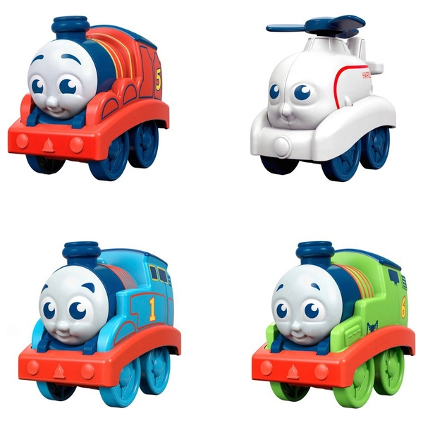 My First Thomas & Friends Railway Pals Push Along Engine Assortment