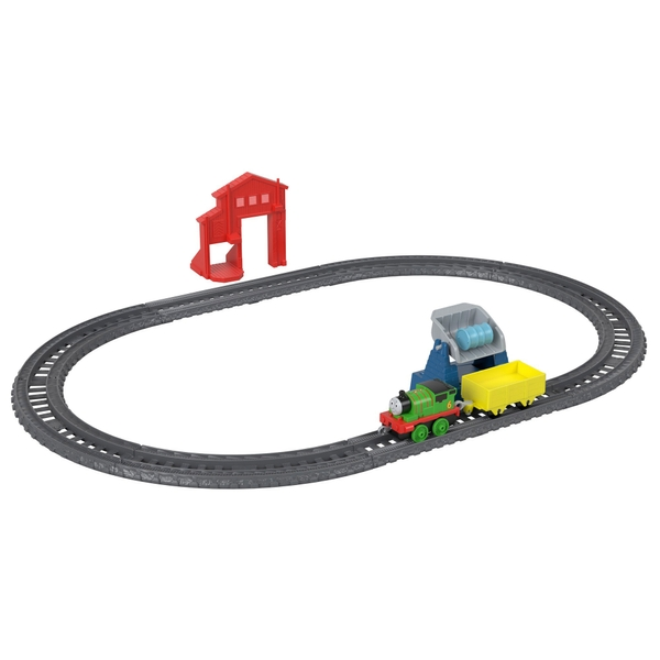 Thomas and Friends TrackMaster Percy's Barrel Drop