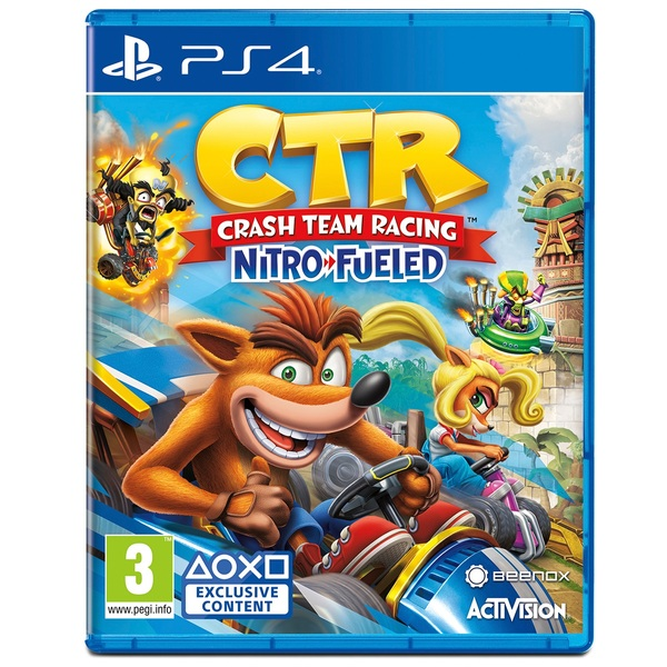 Crash™ Team Racing Nitro-Fueled PS4 - Crash Team Racing Nitro-Fueled UK