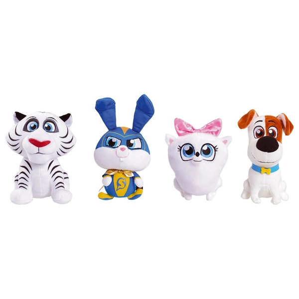 Secret Life of Pets2Bean 19cm Plush Assortment